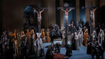 Passion Play Oberammergau: Jesus på korset