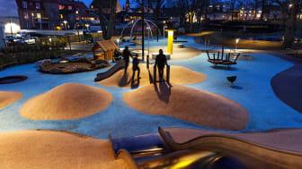 Stadsparkens Generationspark, Västervik. Foto: Sara Winsnes