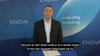 Enova støtter hydrogenstasjoner