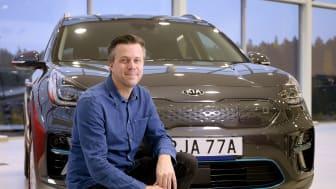 Jonas Nilsson, marknadschef Kia Motors Sweden