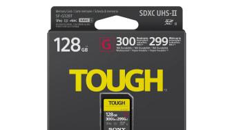 Sony представя най-здравата и бърза SD карта в света