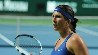 Sofia Arvidsson är tennisspelare och har deltagit i två OS. Foto: Tatiana CC BY-SA 2.0