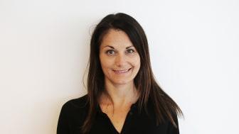 Jessica Becker, projektkoordinator på Trästad Sverige. Bild: Trästad Sverige