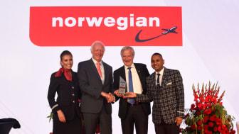Norwegian får ännu ett internationellt pris – utsett till årets flygbolag