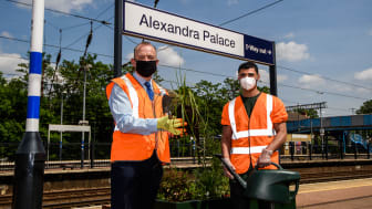 Great Northern and charity Groundwork team up at Alexandra Palace