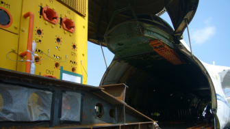 Major Move: a subsea tree being loaded