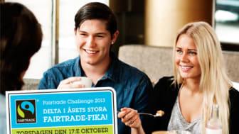 Fairtrade Challenge – 1 600 jämtlänningar fikar för en bättre värld