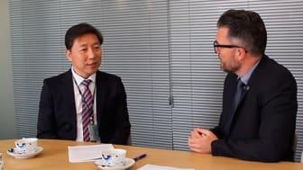Billede: Innovation Center Denmark, Seoul - Dr. Kirim Kim, direktør ved Dong-A University Daesin Intermediate Care Hospital