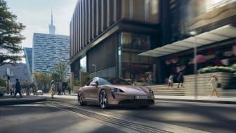 Porsche udvider Taycan-modelrækken - ny indstigningsmodel med baghjulstræk