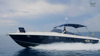 Magnum 40 motorboat Adriana has been repowered with two YANMAR 6LF engines