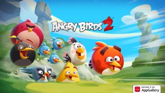 Angry Birds 2 landar i AppGallery