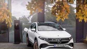 Her er priserne på Mercedes EQA