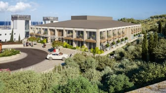 A rendering of the new boutique hotel and spa to open at Karpaz Gate Marina