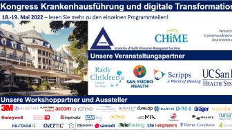 18.-19.05.2022 Kongress Krankenhausführung und digitale Transformation