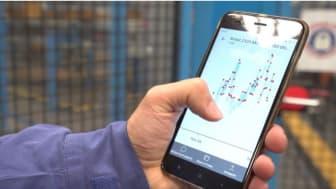 A big data adatfolyam segítségével a Ford mérnökei azonnal látják, ha valamelyik gépsor lelassul