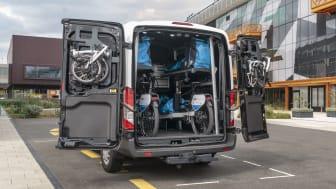 Ford tester bæredygtig pakkelevering