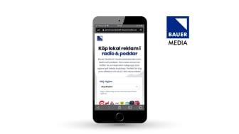 Bauer Media lanserar self-service tjänst för regional ljudannonsering
