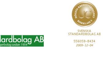 Svenska Standarbolag AB- Oktober 2009- Högre skatt på kapitalvinster 2010