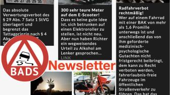 Zweiter BADS-Newsletter abrufbar