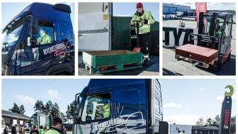 Dags för SM-kvaltävling för unga lastbilschaufförer i norra Sverige