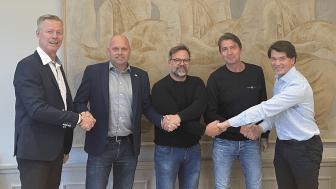 Andreas Brännström, Andreas Bendrik, Ronny Fröling, Henrik Lunnestad och Martin Jacobsson.