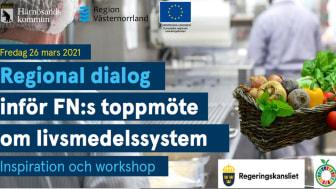 26 mars är Härnösands kommun värd för den regionala dialogen inför FN-toppmötet i september.