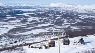 Hemavan Gondol är vinterns stora nyhet. Invigning helgen 30 nov - 3 dec.