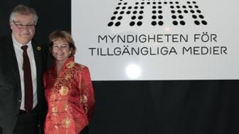 MTM:s logotyp avtäckt av Kulturministern