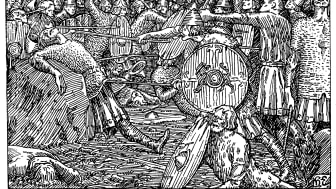 Makt og magi. Halfdan Egedius, Kong Olavs fall, 1895-1899