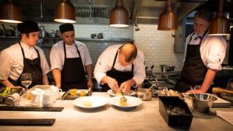Ny köksmästare och nya smaker på Teaterbrasseriet i vår
