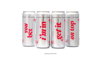 Coca-Cola light hyllar uttrycksfullhet med ny design