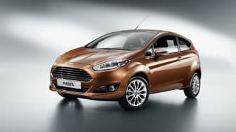 Nye Ford Fiesta kommer til Norge i slutten av 2012.