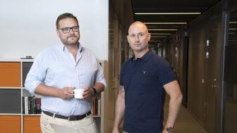 Peter Östling och Jesper Zandin
