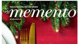 Årets sista nummer av Magasinet Memento är ute!