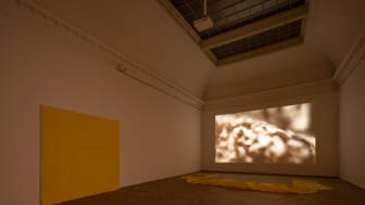 Lea Porsager, SENSITIVE WALL ()() & SENSITIVE WALL ()(), 2021. MIGHTY RUSHED EXPERIMENT, 2020.