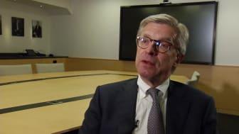 Hans Stråberg, mottagare av Guldklubban i klassen noterade bolag 2019