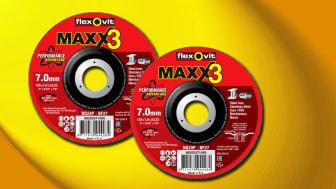 Flexovit Maxx 3 navrondeller - web
