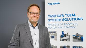 Gert-Inge Nilsson, ansvarig för Yaskawas nya affärsområde.