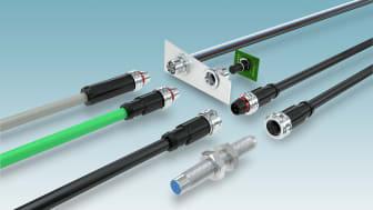 Spar tid med de nya standardiserade M12 Push-Pull kontakterna