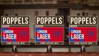 Nytt och nyskapande lageröl från Poppels – The Bishops Arms kopplar på 9 september