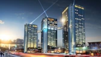 KONE levererar miljöeffektiva hissar till Hotel Gothia Towers i Göteborg