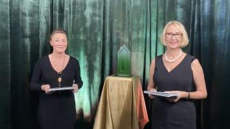 Jeanette Reuterskiöld och Lotta Werner Flyborg. Foto: SGBC