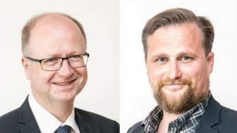 Pontus Lindberg och Carl Johan Sonesson