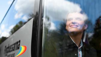 Vy Flygbussarna välkomnar gäster på linjen i Visby till sommaren igen