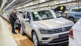 Anden generation af Tiguan, der blev introduceret i 2017, er en af de mest solgte SUV-modeller på verdensplan