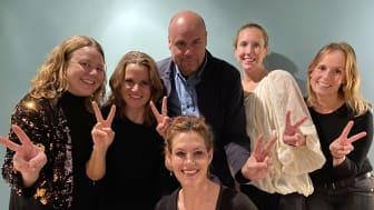 Axfoundation's Future Food team; Maria Lundesjö, Anna Henning Moberg, Mattias Dernelid, Andrea Giesecke, Christin Hanssen and Madeleine Linins Mörner