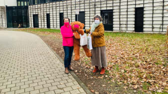 Kerstin Stadler von Bärenherz und Monika Osberghaus (Verlegerin Klett-Verlag)