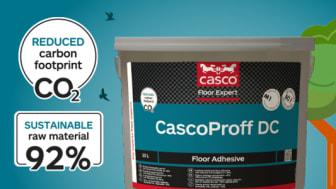 Golvlim med 40% lägre koldioxidavtryck sätter ny standard i branschen