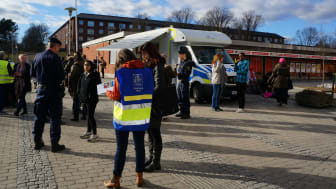 Västra Hisingens medborgarlöfte lanseras på ett torgmöte på Friskväderstorget 1 mars kl 15-18.