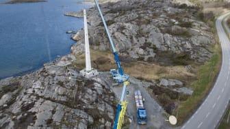 Trätorn kan sänka koldioxidavtrycket från framtida vindkraftverk